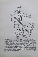 Thomas Derrick DER VERLORENE SOHN 1931 Buchillustration 2 Drucke prints #17