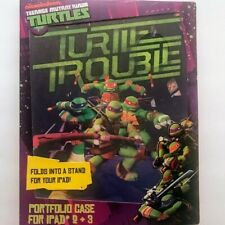 Set of 2Mutant Ninja Turtle IPad 2 and 3 Portfolio cases