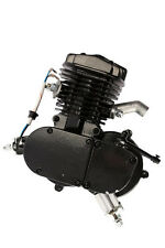 BRAND NEW 66cc 80cc 2-Stroke Gas Engine Motor For Bicycle BLACK I EN05-BASIC