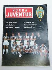 HURRA' JUVENTUS JUVE rivista vintage # 9 - settembre 1966 calcio football