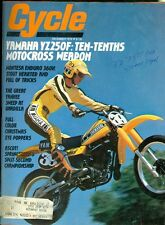 1978 Cycle Magazine: Yamaha YZ250F/Montesa Enduro 360H/Sweep at Unadilla