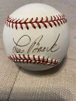 Lou Brock Signed National League Baseball Cardinals MLB HOFer