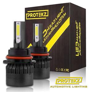 9007 CREE LED 6300W 195000LM Headlight Conversion Kit Bulb White 6000K HI/LO