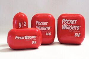 Pocket Weights BCD and Belt Scuba Diving Weights. USPS Priority Shipping.