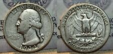 1932 D Washington Quarter 25c Key Date !!
