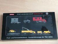 Wiking Post (21)  PMS 80-03 , Edition 99 - Post und Fern. Sonderkfz. 70er in OVP