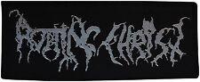 ROTTING CHRIST - Silver Logo - Patch - 6 x 15 cm - 163353