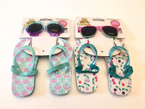 Hello Sunshine Sunglasses & Flip Flops Set Size 0-3