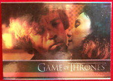 GAME OF THRONES - TWO SWORDS - Season 4 - FOIL PARALLEL Card #01