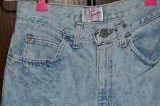 "VTG 1980s ""DIRTY DANCING"" Denim Jean ""Acid Washed""  Shorts Size 7/8 RARE"