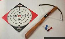 Gapola Armbrust für Kinder aus Holz, mit 3 Sicherheitspfeilen, Neu OVP,