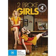2 BROKE GIRLS-Season 4-Region 4-New AND Sealed-3 Dics Set-TV Series