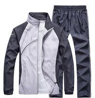 Spring Women/Men Activewear Jogging Suits Jacket Pants tracksuit Sports Coat 2pc