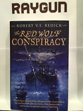 The Red Wolf Conspiracy par Robert V.S.Redick 1st Edition signé doublé daté