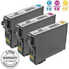 3 PK HY Color Printer Ink Cartridge for Epson T288XL 288XL XP-340 XP-434 XP-446