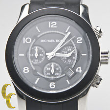 Michael Kors 'Runway' Reloj Cronógrafo 45mm Acero Inoxidable