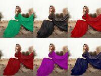 Heavy Sequence Saree Indian Pakistani Designer Party Wear Bollywood Sari Blouse