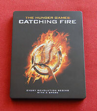 The Hunger Games - Catching Fire - UK Blu-ray Limited Edition Steelbook - OOP!