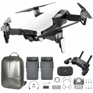 DJI Mavic Air Quadcopter w/ Remote Control - Arctic White + Battery + Backpack