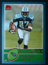 NFL 367 Tyrone Calico Tennessee Titans Topps Rookie 2003