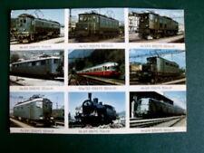 Cartolina Postcard SBB Locomotive Svizzere Schweizer Lokomotiven 1970 [TR8-87 ]