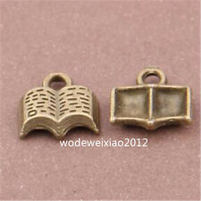20pc bronze antique pendentif charme Livre Perles bijoux en gros jp974