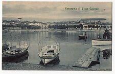 CARTOLINA 1914 PANORAMA DI SESTO CALENDE RIF. 3434