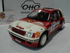 Ottomobile OT647 # Peugeot 205 GPR B #3 Rallye Ypres 1985 Darniche,Mahe 1:18