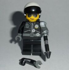 "MOVIE #07B Lego 80's Terminator 2 Judgement Day ""T-1000"" Cop Genuine Lego parts"