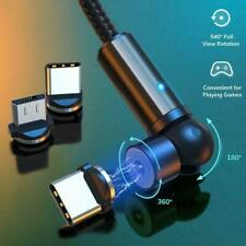 3 IN 1 Magnetic Cable 360° Rotation USB Cable P0H1