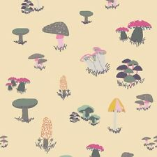 Art Gallery Fantasia by Sara Lawson 3077 Agaricus Forest Froth - Cotton Fabric