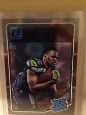 2016 Donruss C.J. Prosise Black Foil Rated Rookie Press Proof. SN#10