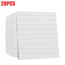 "20 x 3D Brick Foam Wallpaper Panels Stick Panel Wall Ceil Tile 30.31"" x 27.56"""