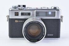 EXC+++ YASHICA ELECTRO 35 GSN 35mm RANGEFINDER CAMERA, NEW SEALS, VERY CLEAN!