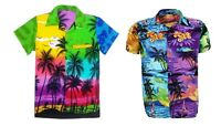 MENS HAWAIIAN SHIRT STAG BEACH HAWAII ALOHA PARTY SUMMER HOLIDAY FANCY S -XXL N2