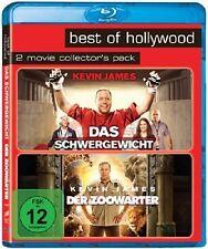 2 x Kevin James: DAS SCHWERGEWICHT + DER ZOOWÄRTER (2 Blu-ray Discs) NEU+OVP