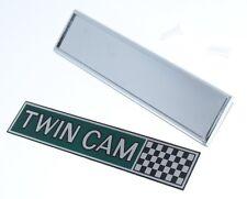"Ford Escort MK1 Emblem Kotflügel ""TWIN CAM""  NEU!"