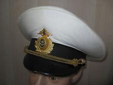 Casquette officier russe Marine Navale RUSSIE URSS T.58