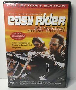 Easy Rider DVD NEW SEALED Jack Nicholson Peter Fonda MA+ Collectors Ed  - Reg 4