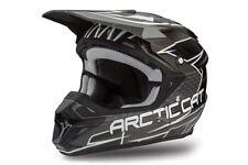 Arctic Cat MX Team Arctic ZR Black / Grey All Season Helmet