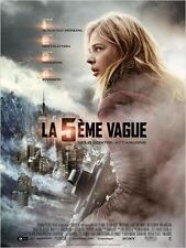 Affiche 120x160cm LA 5ÈME VAGUE /THE 5TH WAVE (2016) Chloë Grace Moretz NEUVE