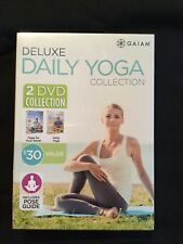 Deluxe Daily Yoga Collection by Gaiam, 2 Dvds