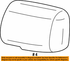 87945-52080-A0 Toyota Cover, outer mirror, lh 8794552080A0, New Genuine OEM Part