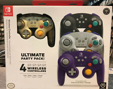 PowerA Nintendo Switch 4 Wireless Controllers Ultimate Party Pack