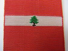 RUBAN POUR FAIRE DIXMUDE LIBAN ANCIEN TISSAGE 4 cm