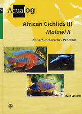 AQUALOG African Cichlids III Malawi II Peacocks, NEW!!!