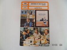 CARTE FICHE CINEMA 1995 ANTONIA ET SES FILLES Willeke Van Ammelrooy Dottermans