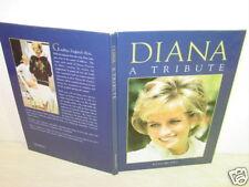 Old,Book,Diana A Tribute,Princess,Wales,J,Delano,Death