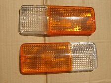 Suzuki SJ Sierra Samurai Front Turn Signal Park Light LENS Pair LH + RH New