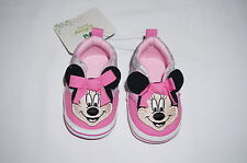 NWT DISNEY MINNIE MOUSE infant shoe GIRL 9-12M  pink